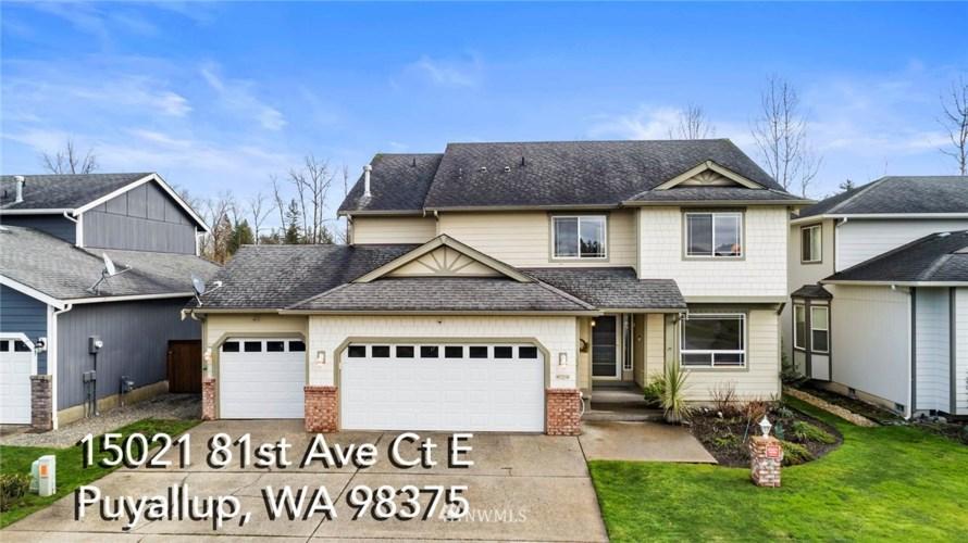 15021 81St Ave CT E, Puyallup, WA 98375