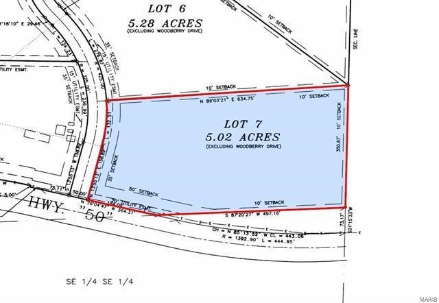 0 Woodberry Drive, Beaufort, MO 63013