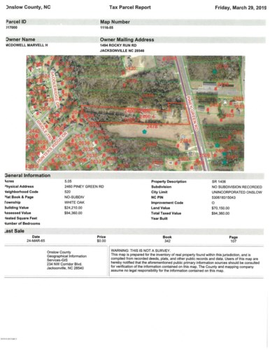 2460 Piney Green Road, Midway Park, NC 28544