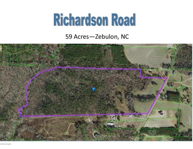 59 Acres Richardson Road, Zebulon, NC 27597