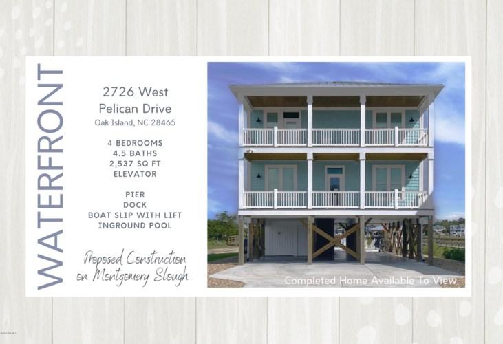 2726 W Pelican Drive, Oak Island, NC 28465