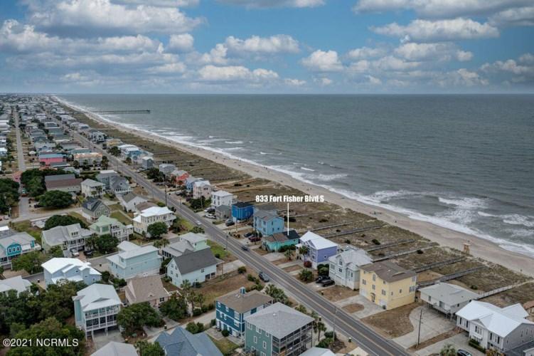 833 S Fort Fisher Boulevard, Kure Beach, NC 28449