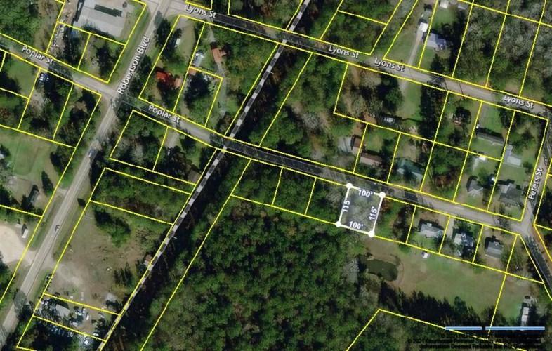 0 Poplar Street, Walterboro, SC 29488