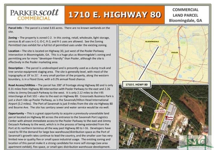 1710 US Highway 80 Highway, Bloomingdale, GA 31302