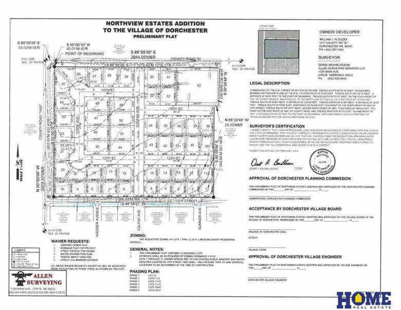 Lot 2, 1417 County Road D, Dorchester, NE 68343