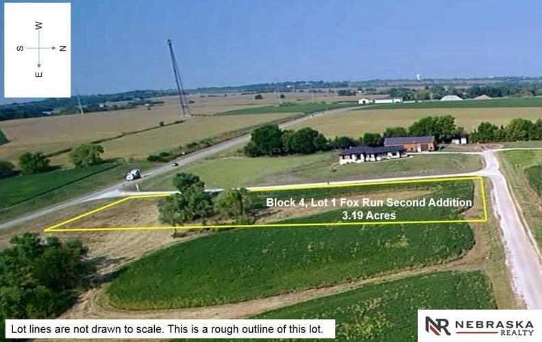 Block 4 Lot 1 Fox Run Land, Bennet, NE 68317
