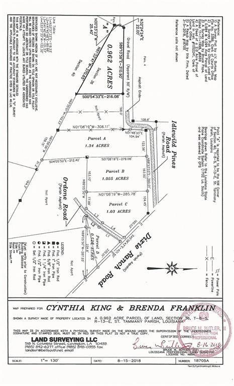 IDLEWILD PINES Road, Slidell, LA 70458
