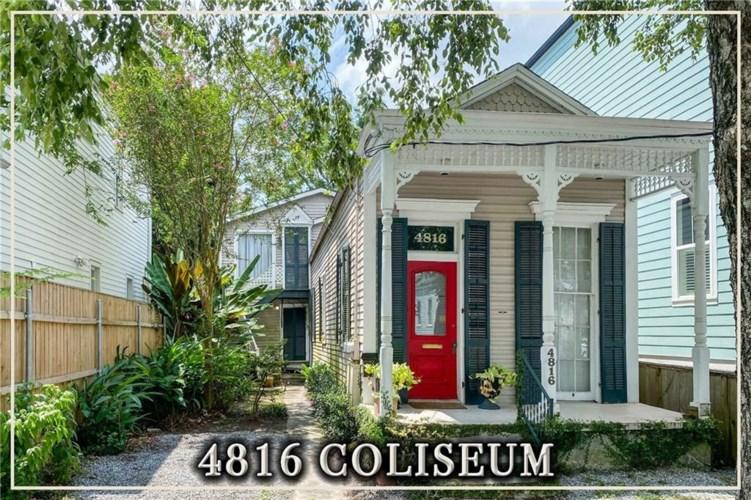 4816 COLISEUM Street, New Orleans, LA 70115