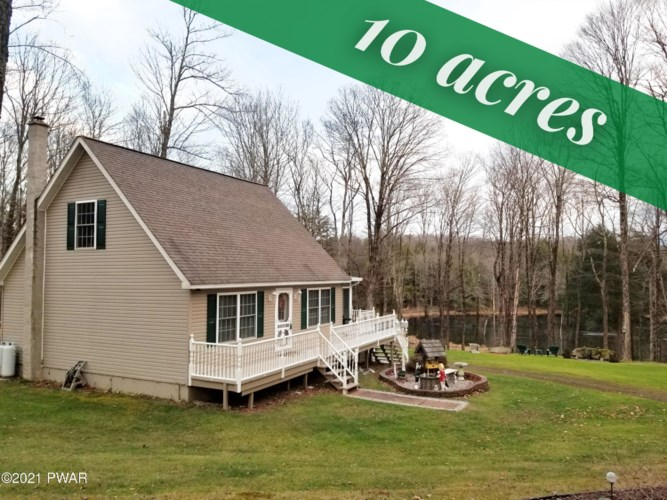 501 Fork Mountain Rd, Equinunk, PA 18417