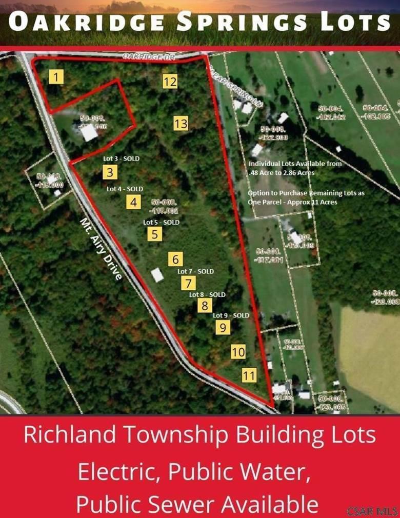 Oakridge/Mt. Airy Drive Land, Johnstown, PA 15904