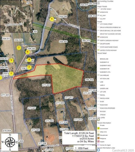 22 acres Cal Kennedy Road, Cleveland, NC 27013