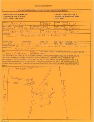 2225 Pleasant View Church Road  #Tract 6, Danbury, NC 27016