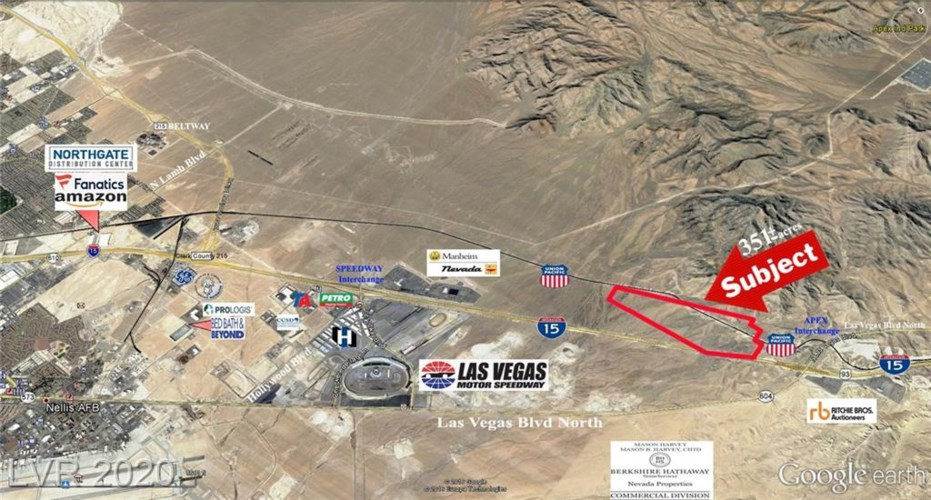 US I-15 HWY - Apex Industrial Park, North Las Vegas, NV 89124