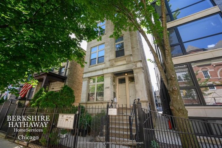 1342 N CLAREMONT Avenue #1R, Chicago-West Town, IL 60622