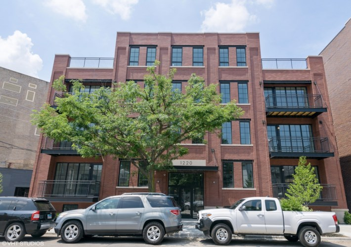 1220 N Bosworth Avenue #202, Chicago-West Town, IL 60642