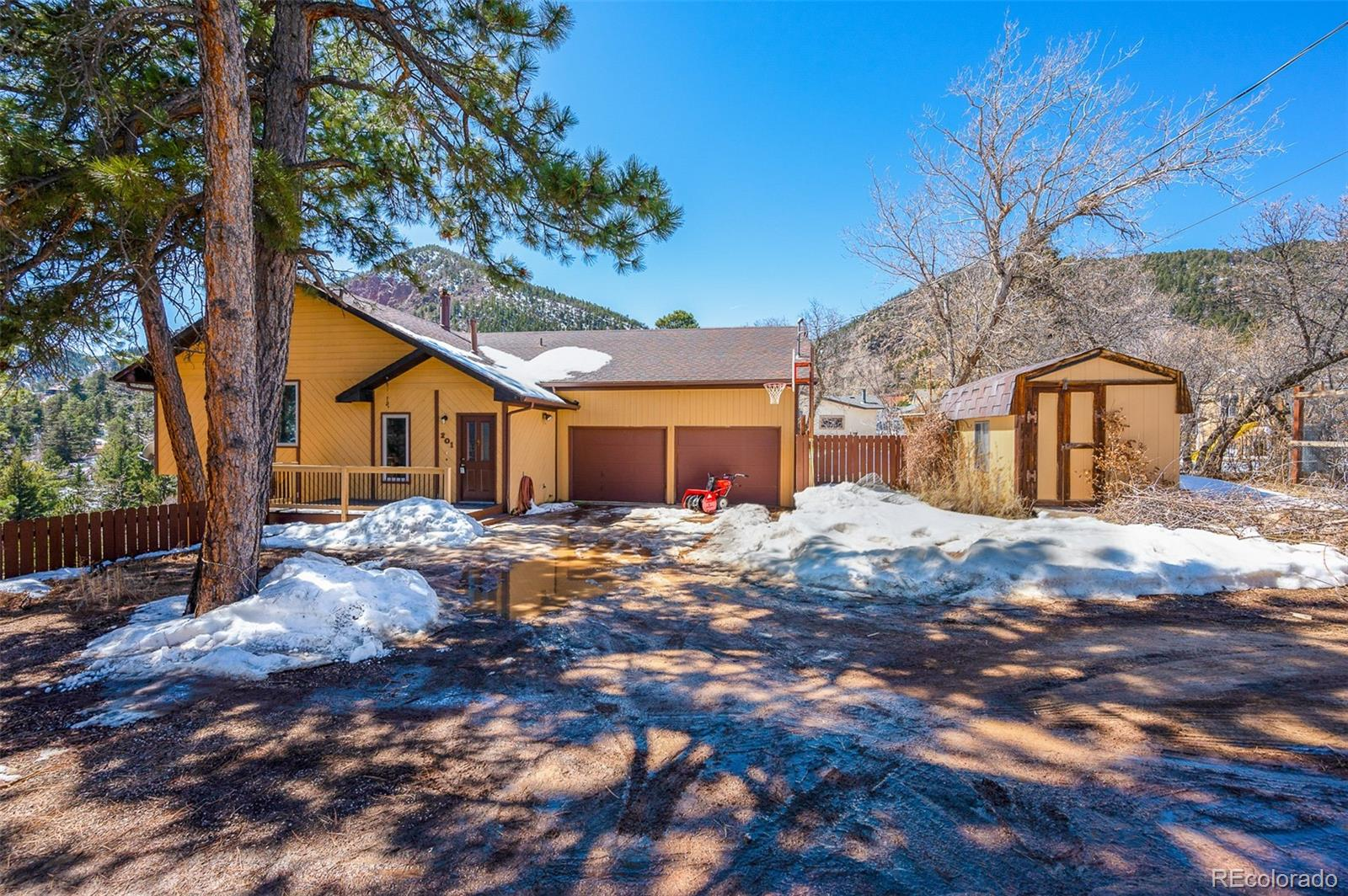 201 S Valley Road , Palmer Lake, CO 80133