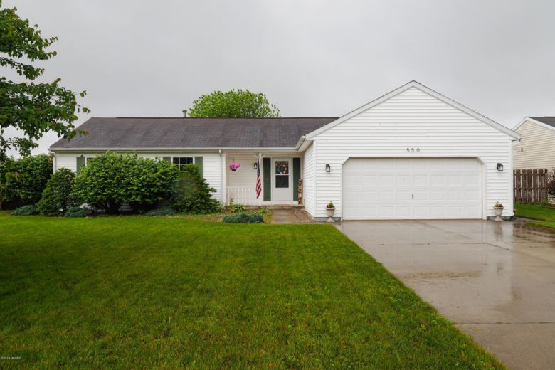 550 Courtney Street, Galesburg, MI 49053