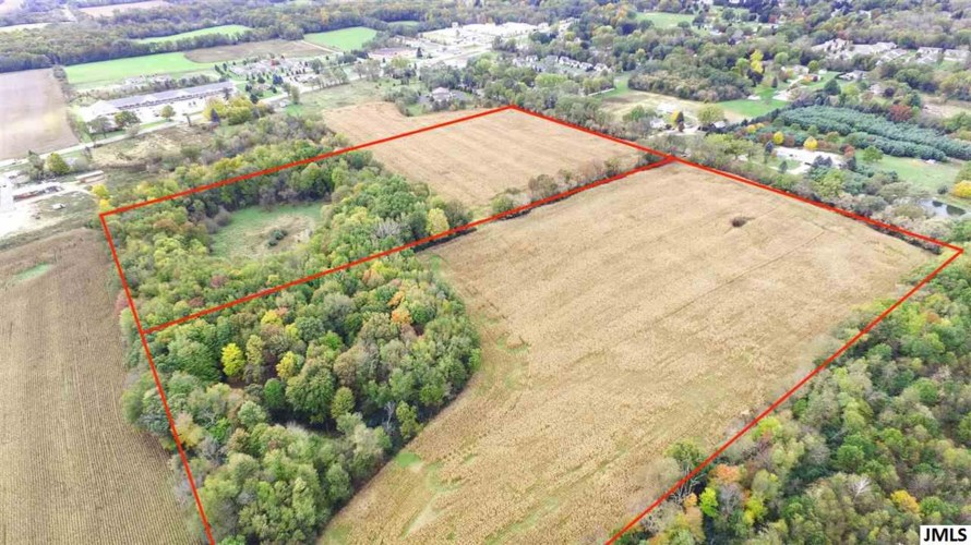 V/L S DEARING RD, 40 Acres Vacant Land S Dearing, Spring Arbor, MI 49283