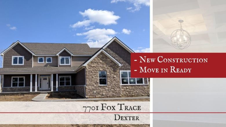 7701  Fox Trace Road, Dexter, MI 48130
