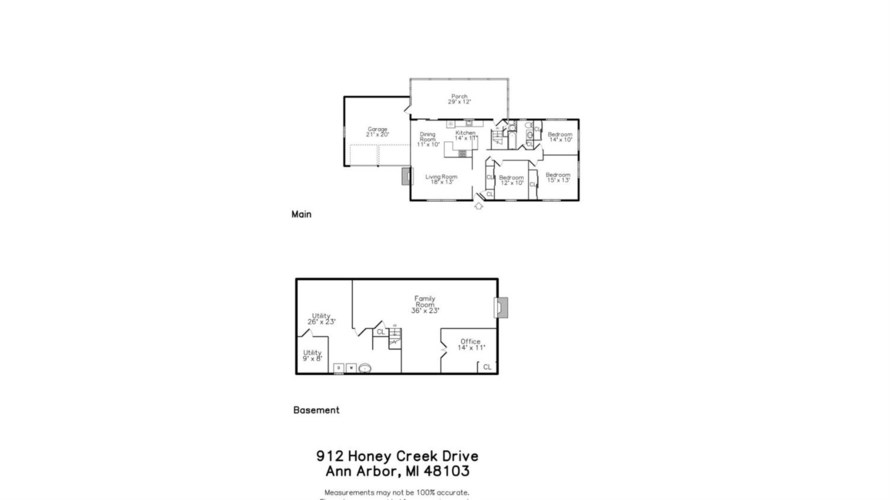 912  Honey Creek Drive, Ann Arbor, MI 48103