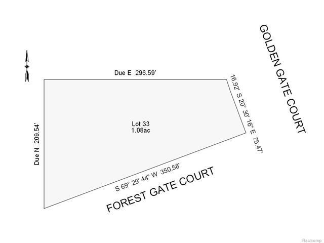33 FOREST GATE Court, Grand Blanc, MI 48439