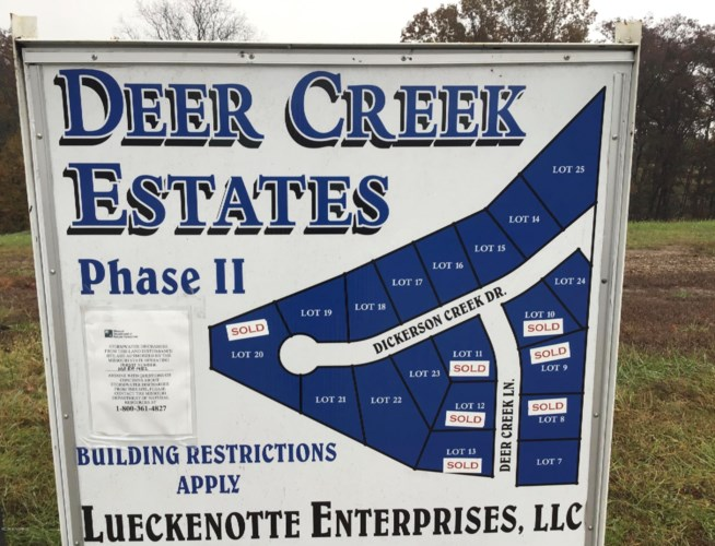LOT 15  DICKERSON CREEK DRIVE, Jefferson City, MO 65109