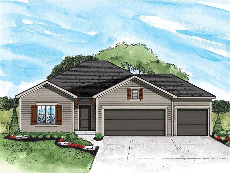 1901 Creek View Lane , Raymore, MO 64083