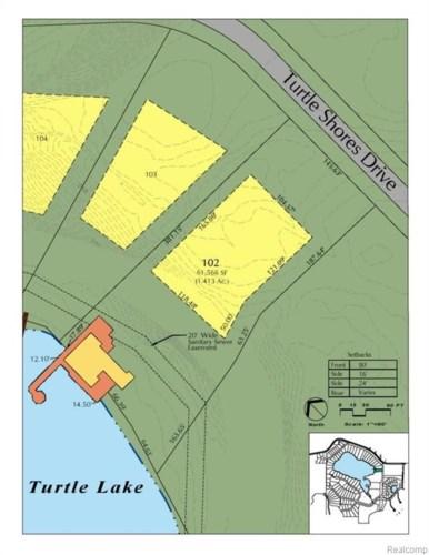 2623 TURTLE SHORES, Bloomfield Hills, MI 48302