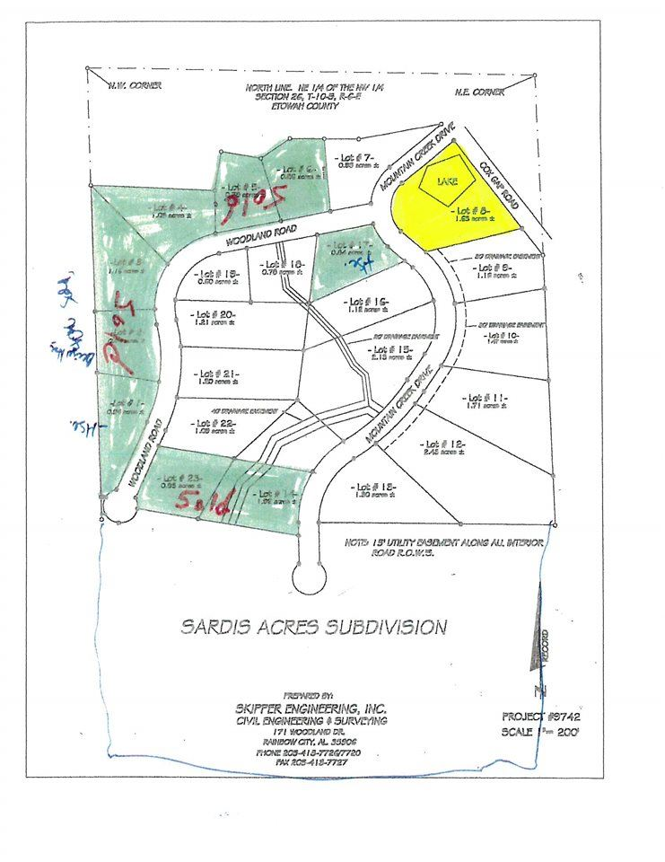 LOT 8 MOUNTAIN CREEK DRIVE, BOAZ, AL 35956