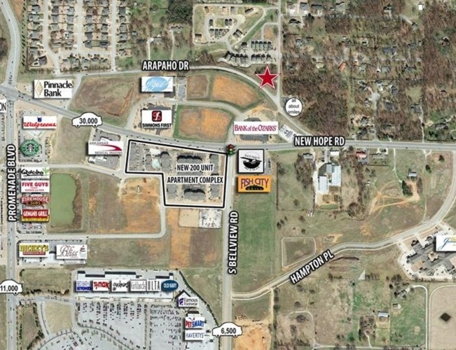 1808 S Osage Road, Rogers, AR 72758