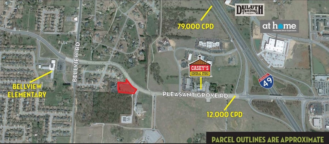 1.71 Acres W Pleasant Grove Road, Rogers, AR 72758