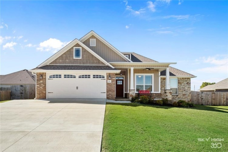 1291 Sundowner Ranch Avenue, Prairie Grove, AR 72753