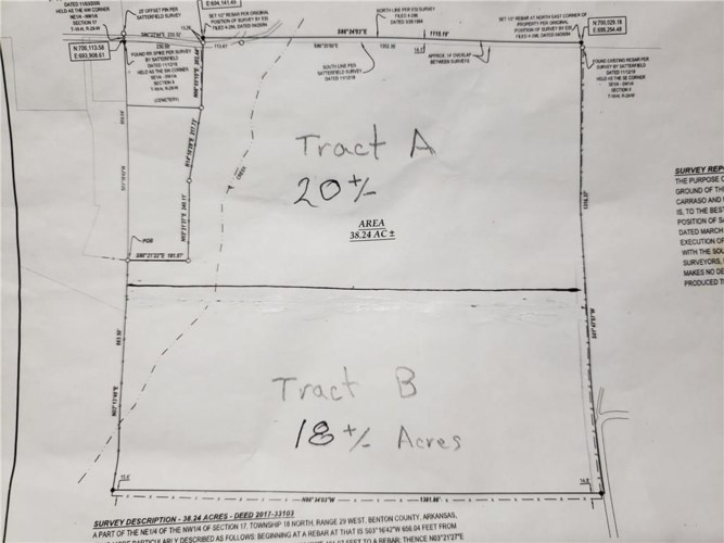 20+/- Acres End Of Apple Blossom Road, Lowell, AR 72745