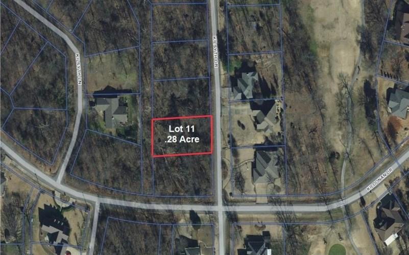 Lot 11 Kilsyth Drive, Bella Vista, AR 72715