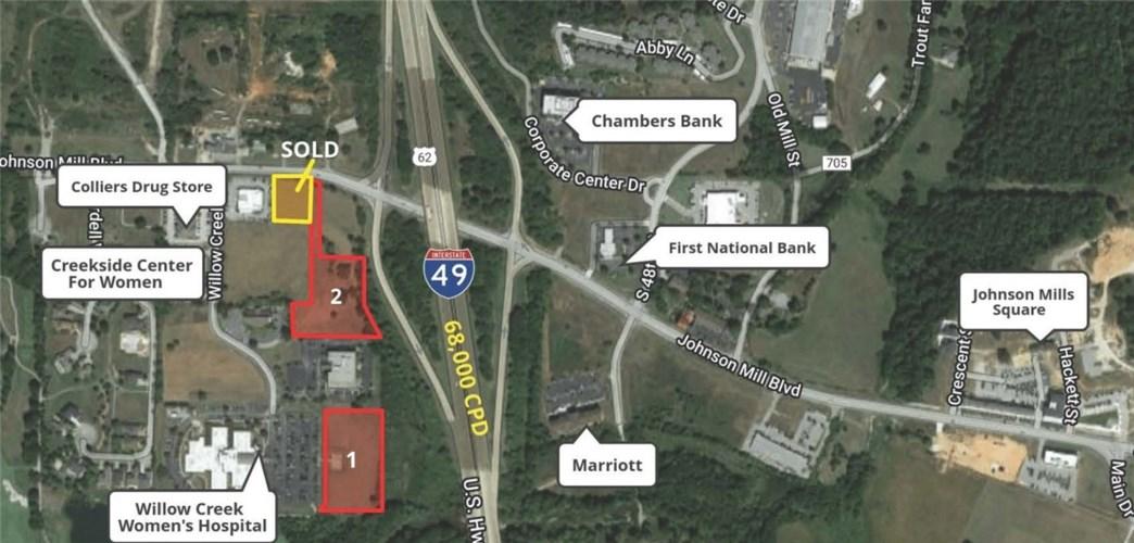 2.97 Acres (Lot 1) Johnson Mill Boulevard, Johnson, AR 72762