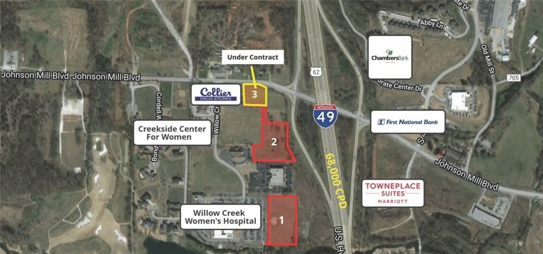 0.84 Acres (Lot 3) Johnson Mills Boulevard, Johnson, AR 72762