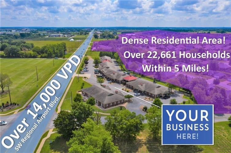 1801 SW Regional Airport Boulevard  #1 & 5, Bentonville, AR 72713