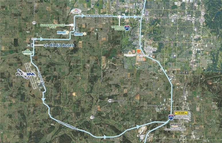 SW Regional Airport Boulevard, Bentonville, AR 72713