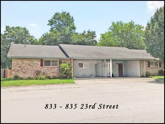 833 & 835 S 23rd Street, Rogers, AR 72758