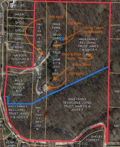 496-522-539 Kelly Lane, Pea Ridge, AR 72751