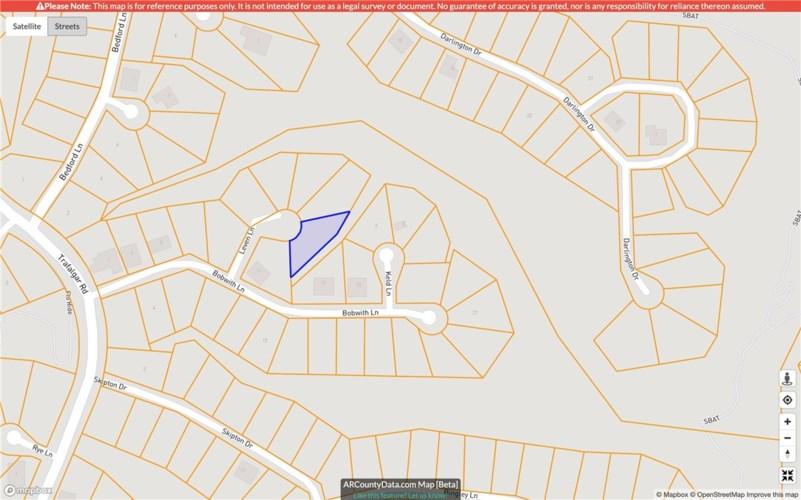 Lot 10, Block 1 Leven Lane, Bella Vista, AR 72714