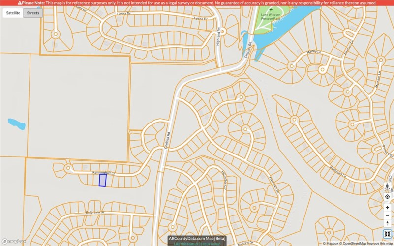 Lot 9, Block 1 Kenninghall Lane, Bella Vista, AR 72715