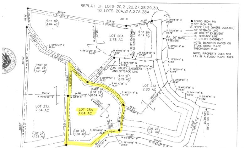 Lot 28 A  Dogwood Drive, Omaha, AR 72662