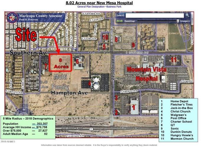 9721 E Southern Avenue, Mesa, AZ 85208