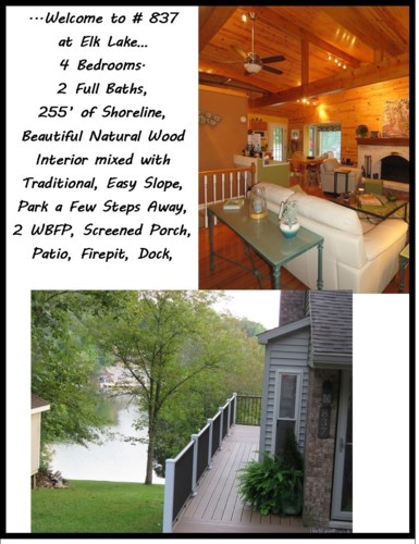 445 ELK LAKE RESORT RD, # 837, Owenton, KY 40359