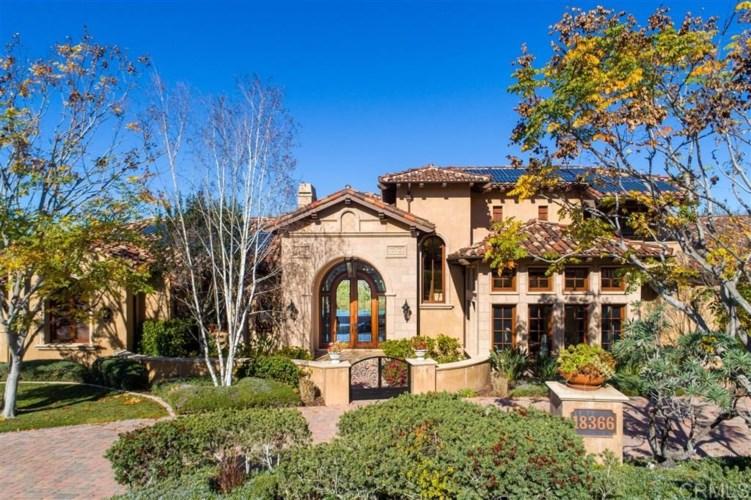 18366 Calle Stellina, Rancho Santa Fe, CA 92091