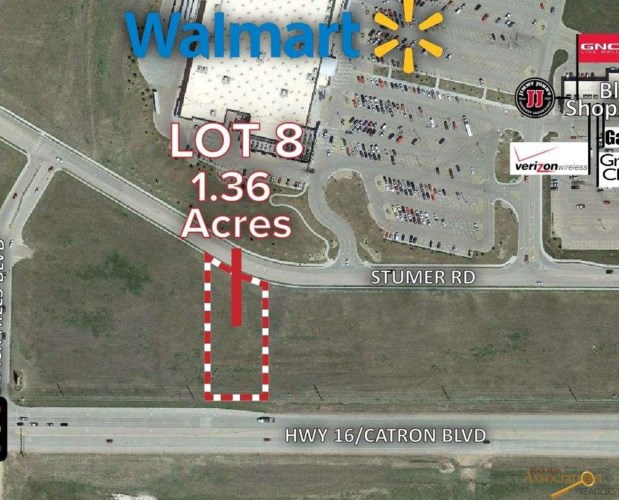 Lot 8 STUMER RD, Rapid City, SD 57701