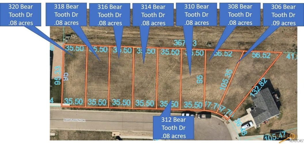 320 BEAR TOOTH DR, Box Elder, SD 57719