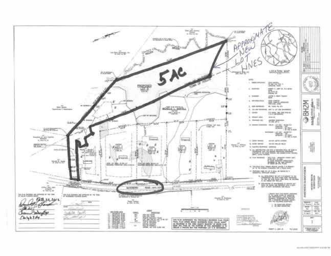 5 Acre lot off Townhouse Road, Waterboro, ME 04030