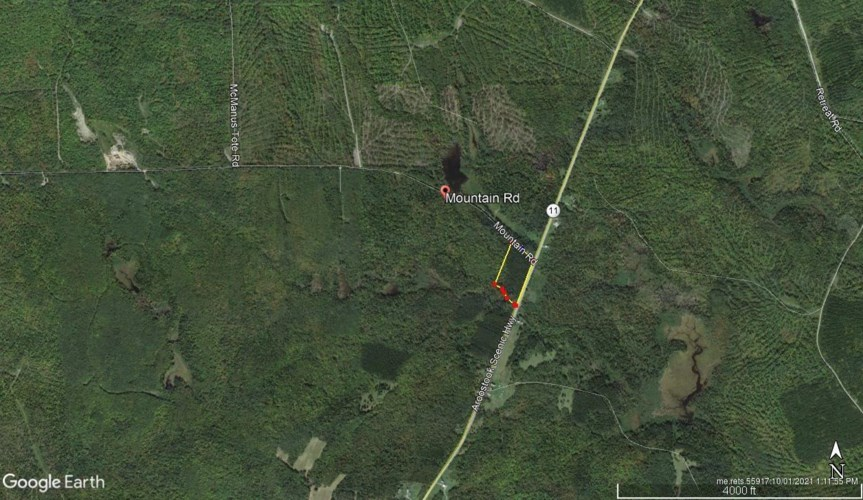 L 5 Houston Brook off Mountain Road, Hersey, ME 04780